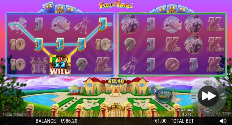 Foxin Twins slot review nextgen free games