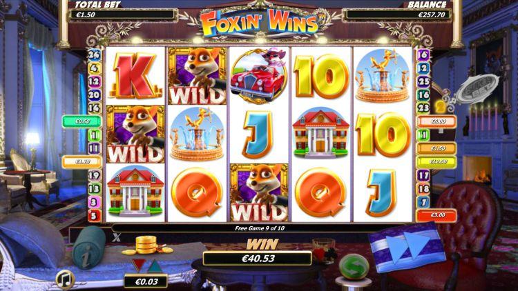 Foxin Wins Nextgen bonus spin