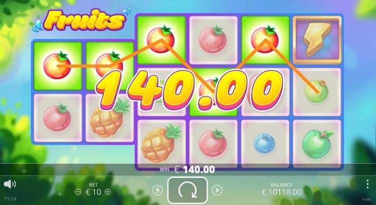 Fruits review No Limit City big win