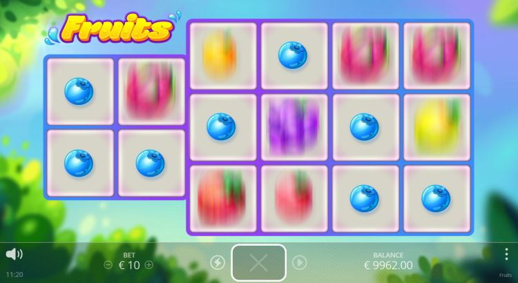 Fruits review mystery win