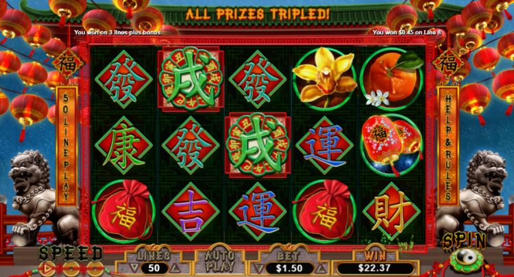 Fu Chi pokie review free spins