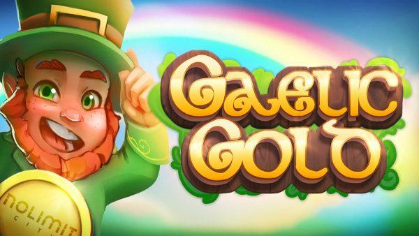 Gaelic Gold slot no limit city logo