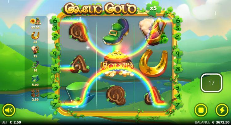 Gaelic Gold slot no limit city review bonus trigger 2