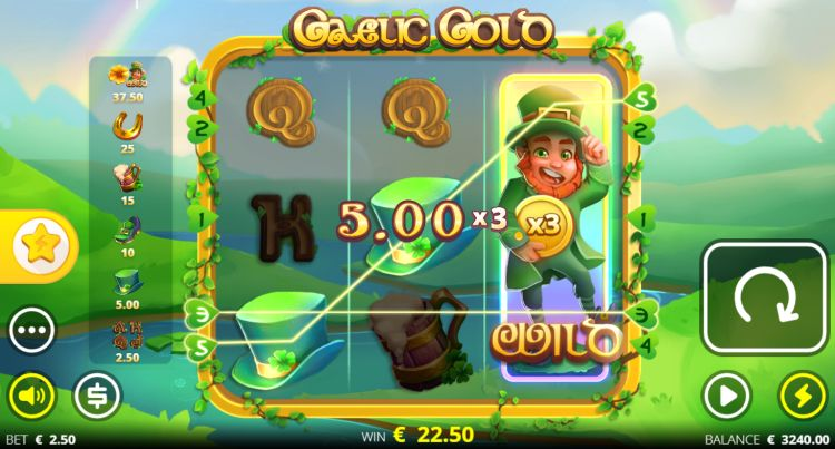 Gaelic Gold slot no limit city review