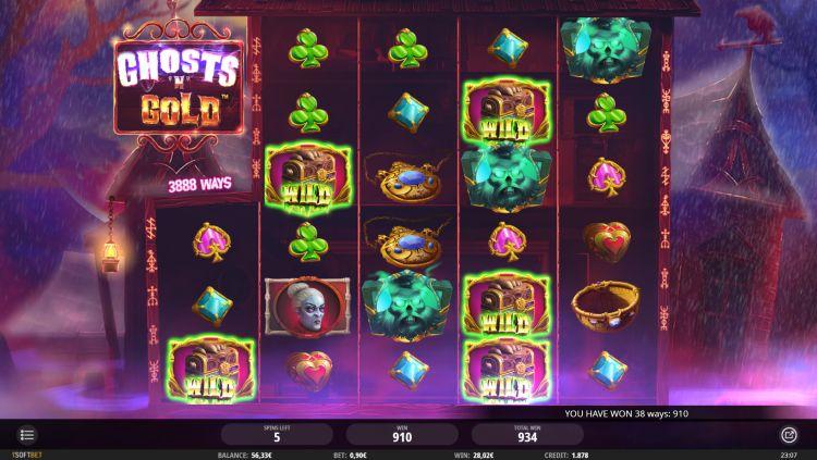 Ghosts n gold slot review isoftbet bonus win
