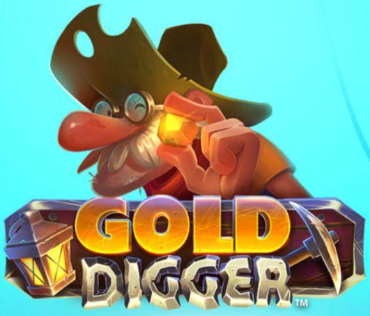 Gold Digger isoftbet slot logo