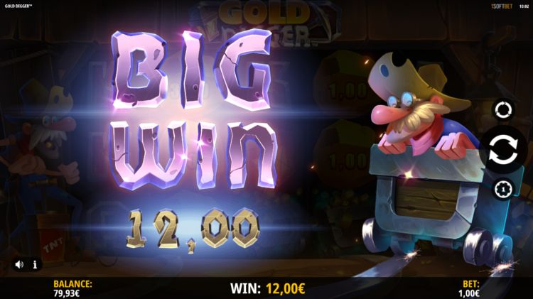 Gold Digger isoftbet slot review win
