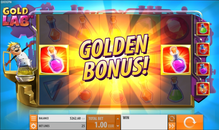 Gold Lab quickspin golden bonus