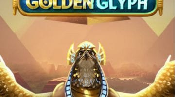 Golden Glyph slot review quickspin logo