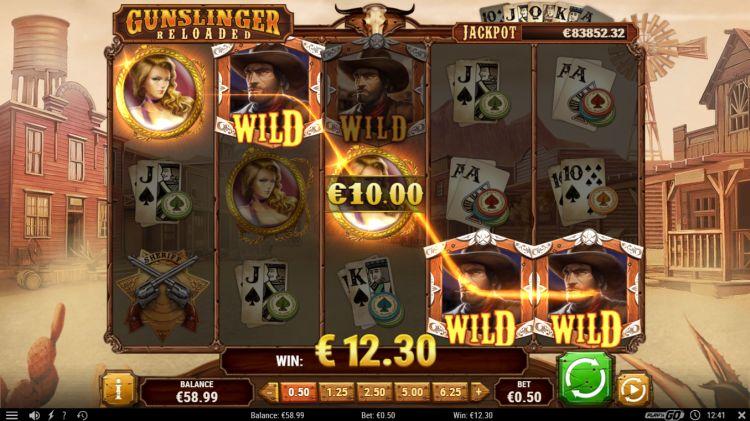Gunslinger reloaded play'n GO big win