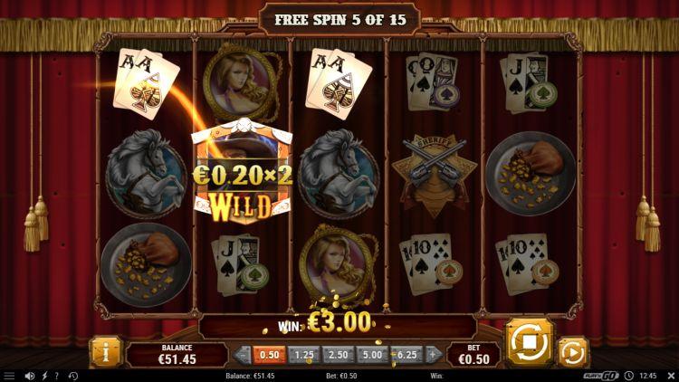 Gunslinger reloaded play'n GO free spins