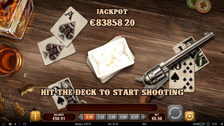 Gunslinger reloaded play'n GO jackpot game