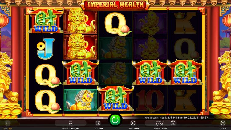 Imperial Wealth slot review win