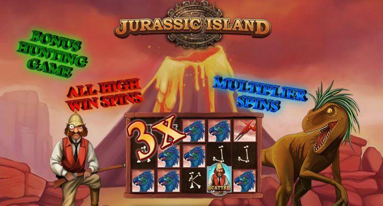 Jurassic Island Playtech bonussen