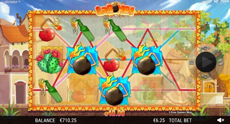 La Bomba slot review nextgen bonus trigger