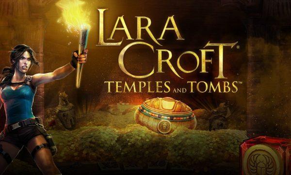 Lara-Croft-Temple-Tombs slot logo