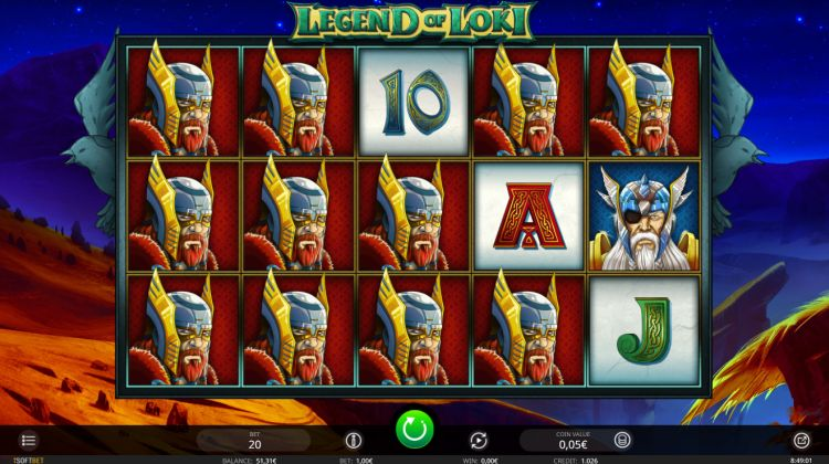 Legend of Loki slot review isoftbet respins