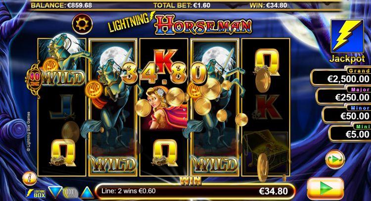 Lightning Horseman slot review big win 2