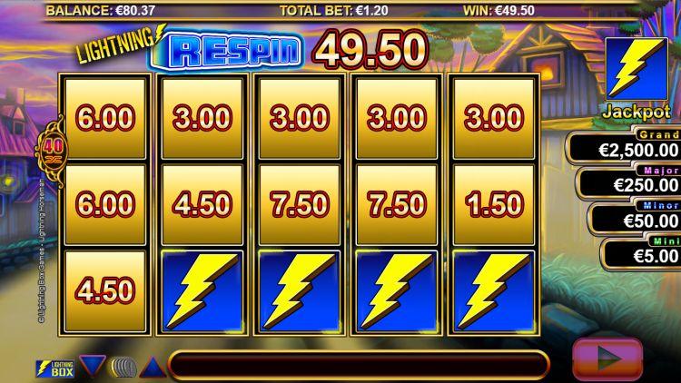 Lightning Horseman slot review