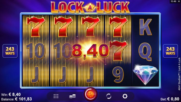Lock a luck slot review Microgaming