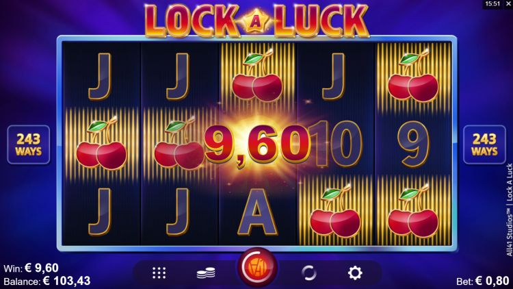 Lock a luck slot review