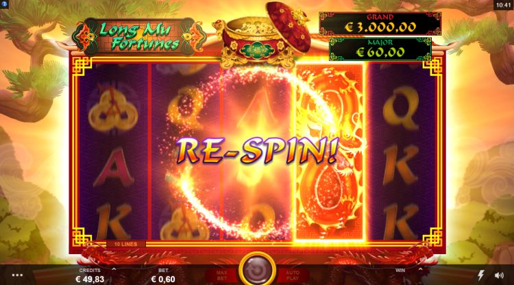 Long Mu Fortunes slot review microgaming