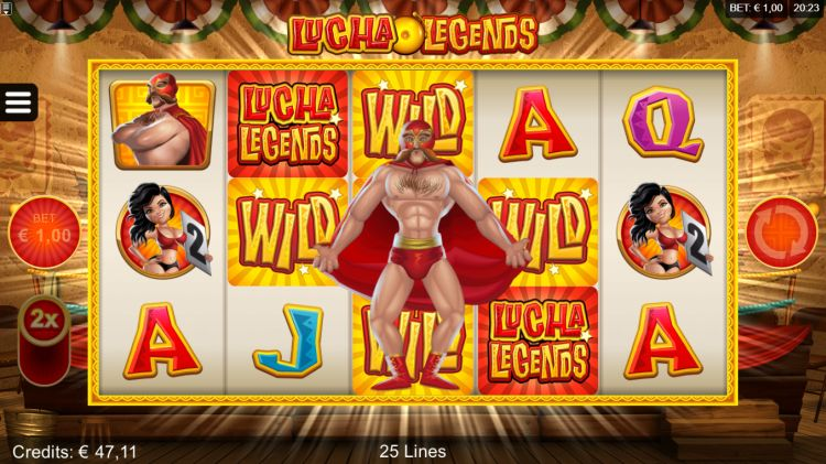 Lucha Legends slot review microgaming