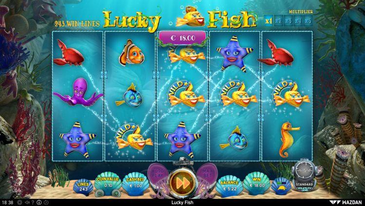 Lucky Fish slot review Wazdan big win