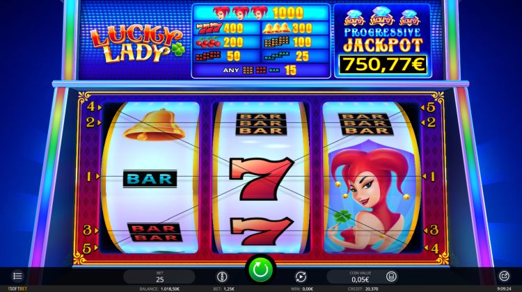 Lucky Lady isoftbet slot review