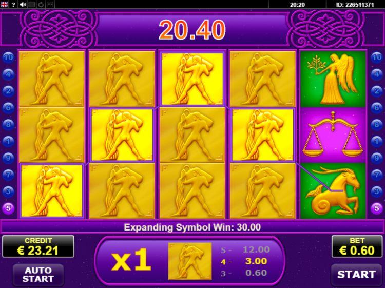 Lucky Zodiac Amatic bonus win