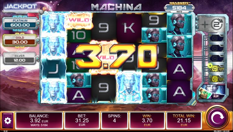 Machina megaways slot review relax gaming