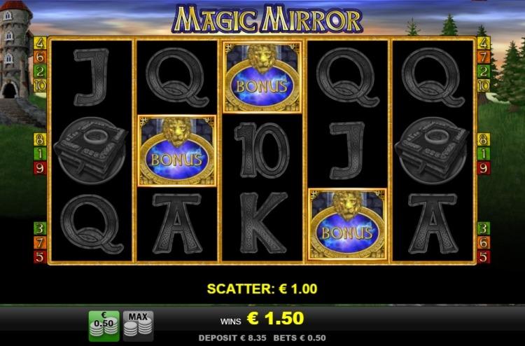 Magic Mirror bonus trigger