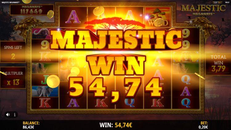 Majestic Megaways slot review isoftbet big win