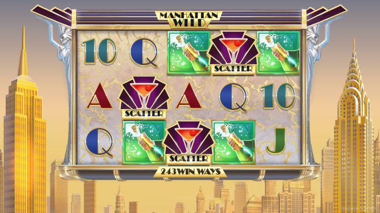 Manhattan goes wild slot review bonus trigger