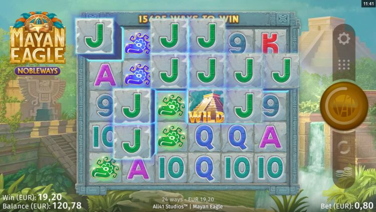Mayan Eagle slot review mystery win bonus