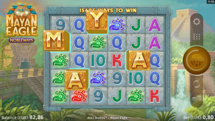 Mayan Eagle slot review microgaming