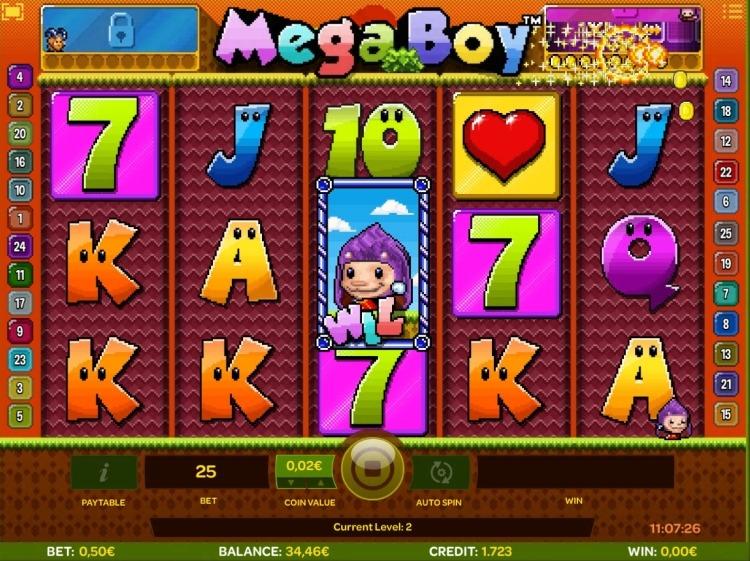 Mega Boy isoftbet slot bonus trigger