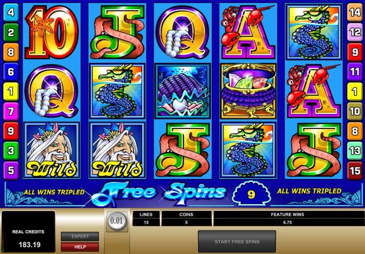 Mermaids Millions Microgaming big win