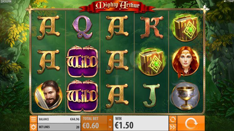 Mighty Arthur Slot quickspin 2