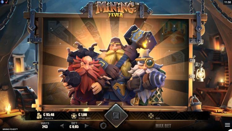 Mining Fever slot review Rabcat bonus trigger