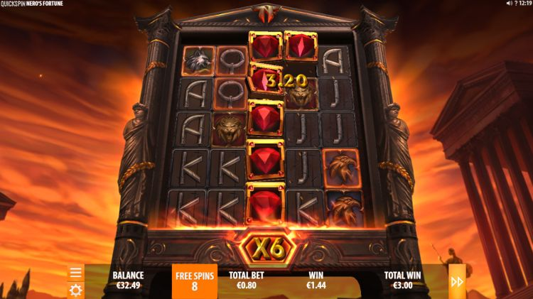 Nero's Fortune slot review quickspin