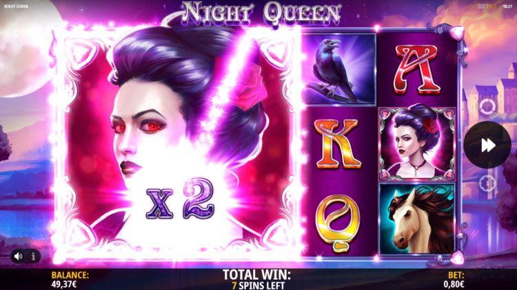 Night Queen slot review isoftbet big win bonus