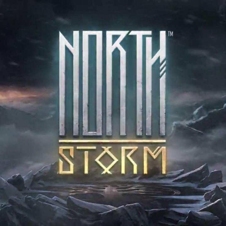 North Storm slot review Rabcat logo