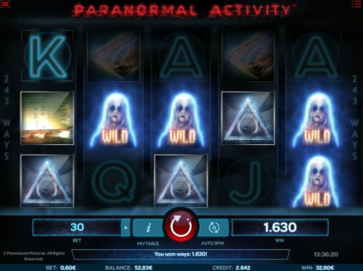 Paranormal Activity slot review iSoftbet big win