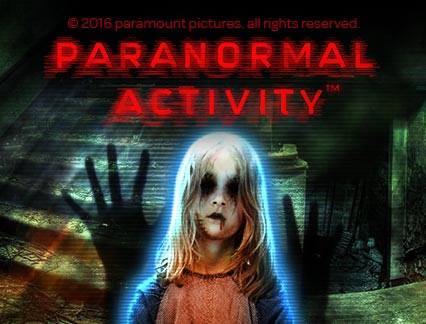 Paranormal Activity review logo