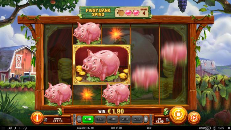 Piggy Bank Farm slot feature