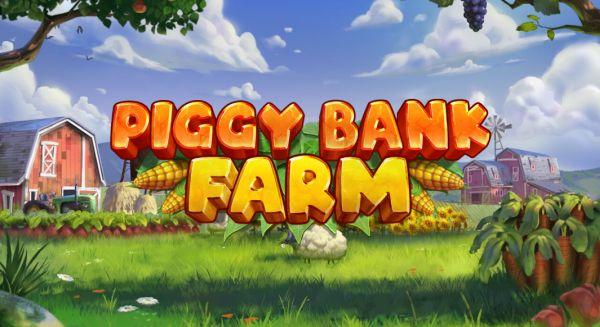 Piggy Bank Farm slot logo