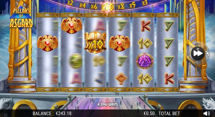 Pillars of Asgard slot review Nextgen free spins