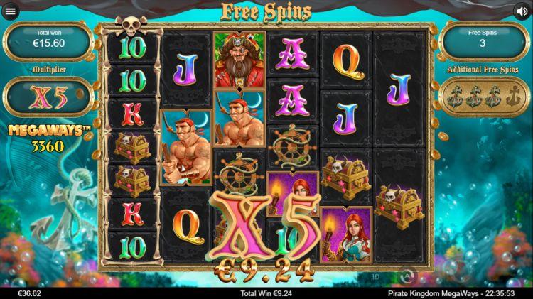 Pirate Kingdom Megaways review big win free spins