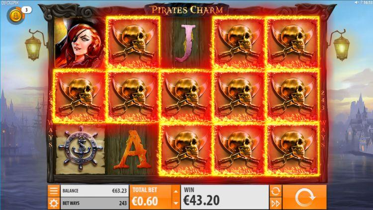 Pirates charm quickspin super win